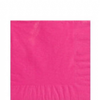 Bright Pink 2 Ply Luncheon Napkins 33cm (20)